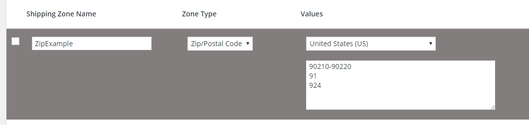 WooCommerce Shipping by Zip Code