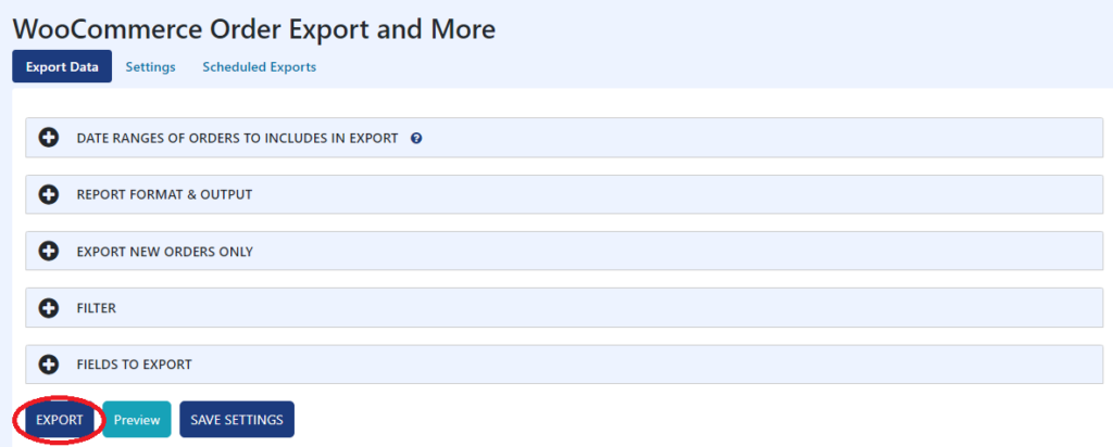 WooCommerce Order Export and More